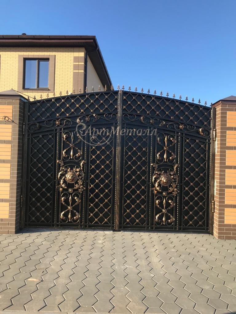 кованые ворота, фото 4