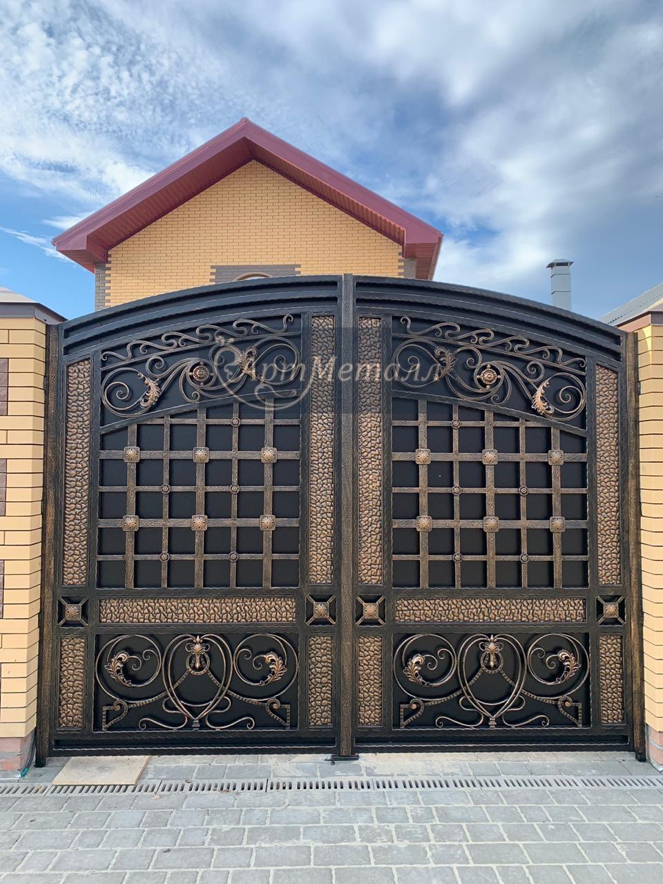 кованые ворота, фото 3